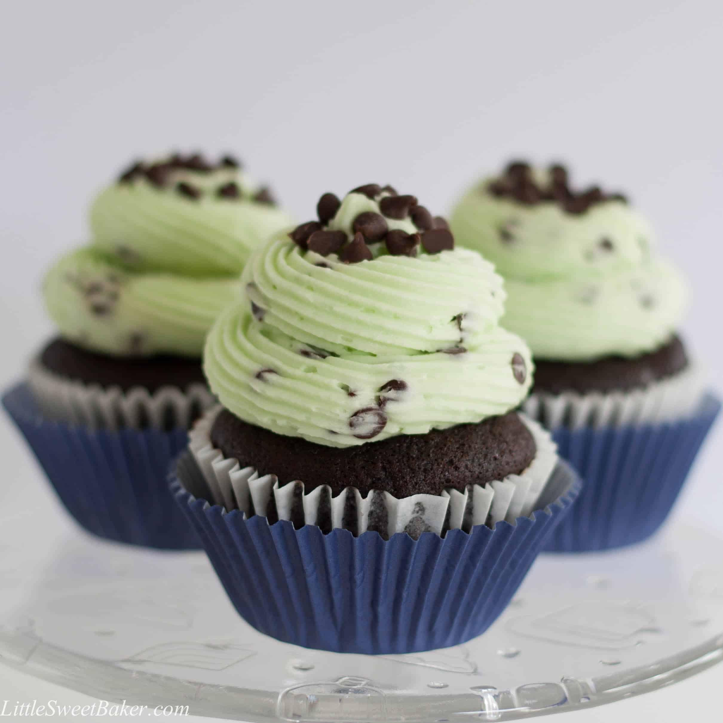 Chocolate Chocolate Chip Cupcakes With Cake Mix