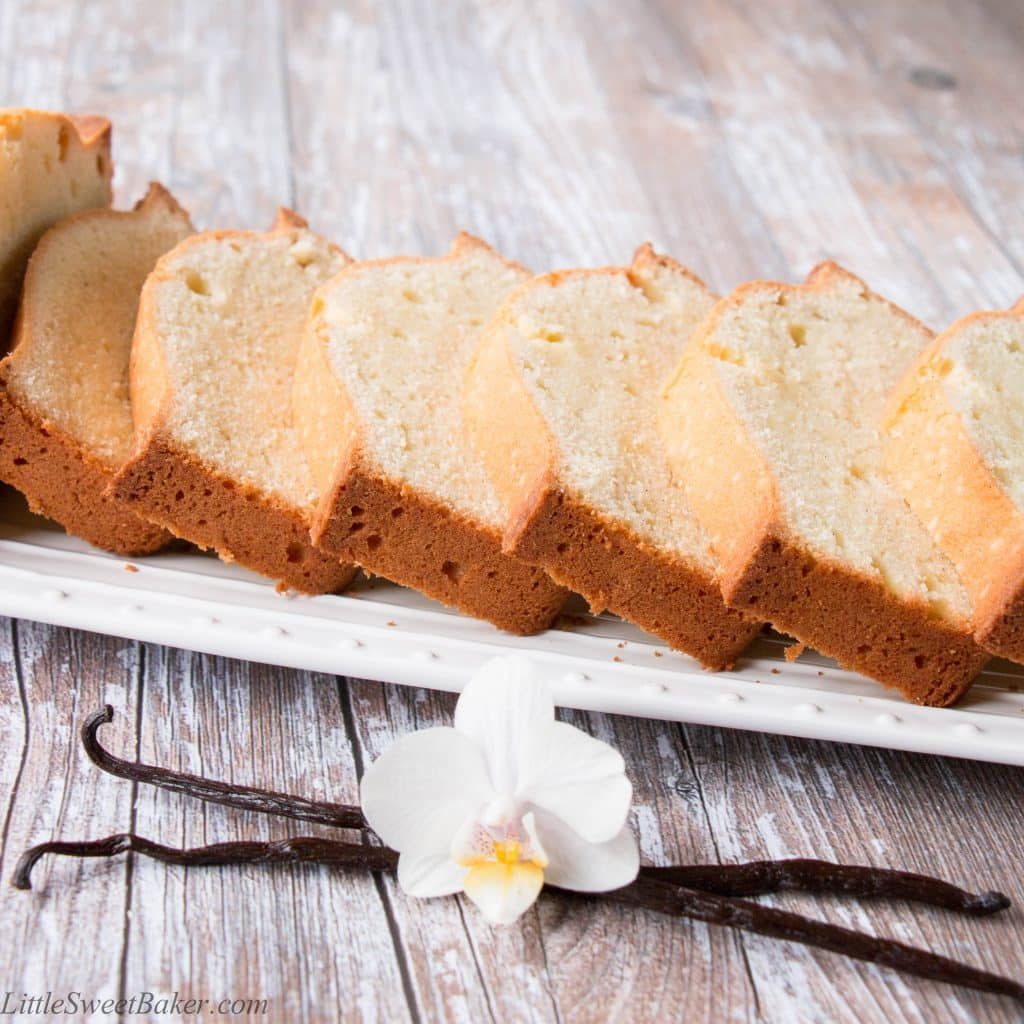 Pound Cake Recipe With One Stick Of Butter