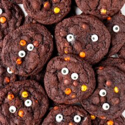 Chewy and chocolatey with the great taste of Reese's pieces! These cookies are fun for the whole family to enjoy.