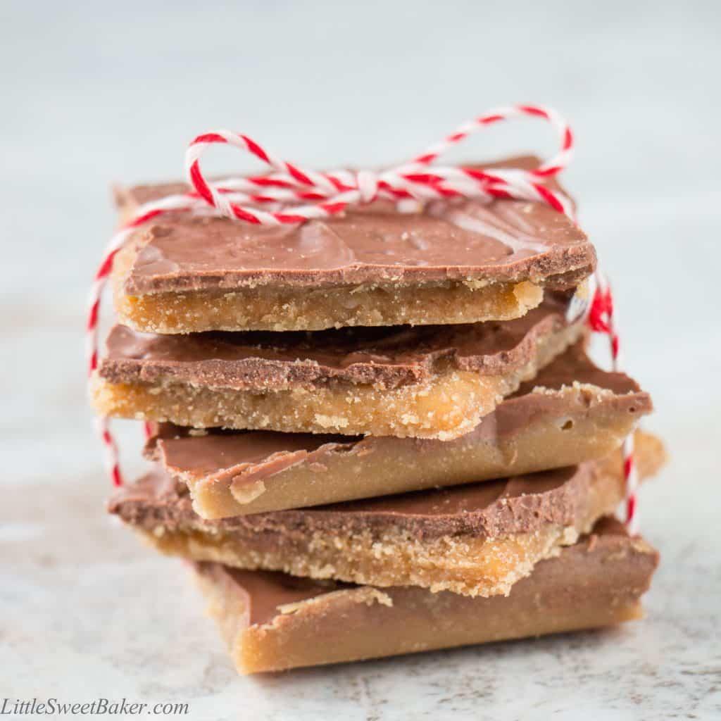 christmas crack video recipe little sweet baker
