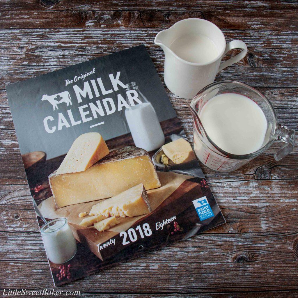 #milkcalendar #milkcalendar2018 #dairyfarmersofCanada