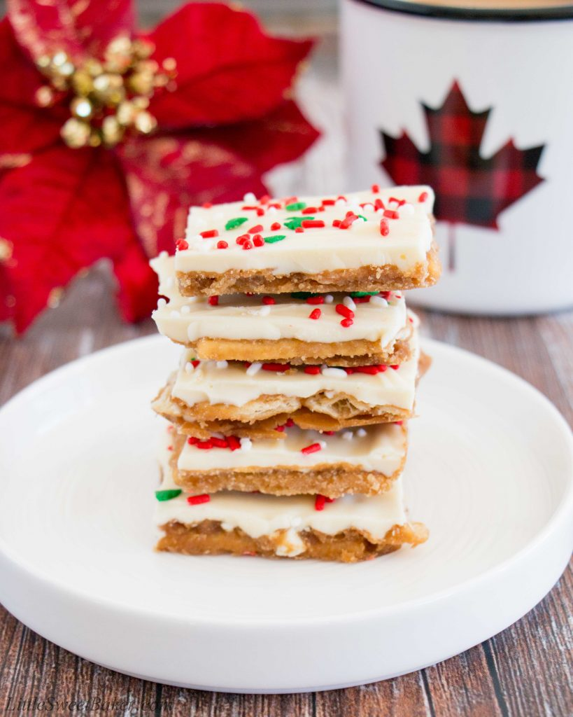 christmas crack recipe soda crackers