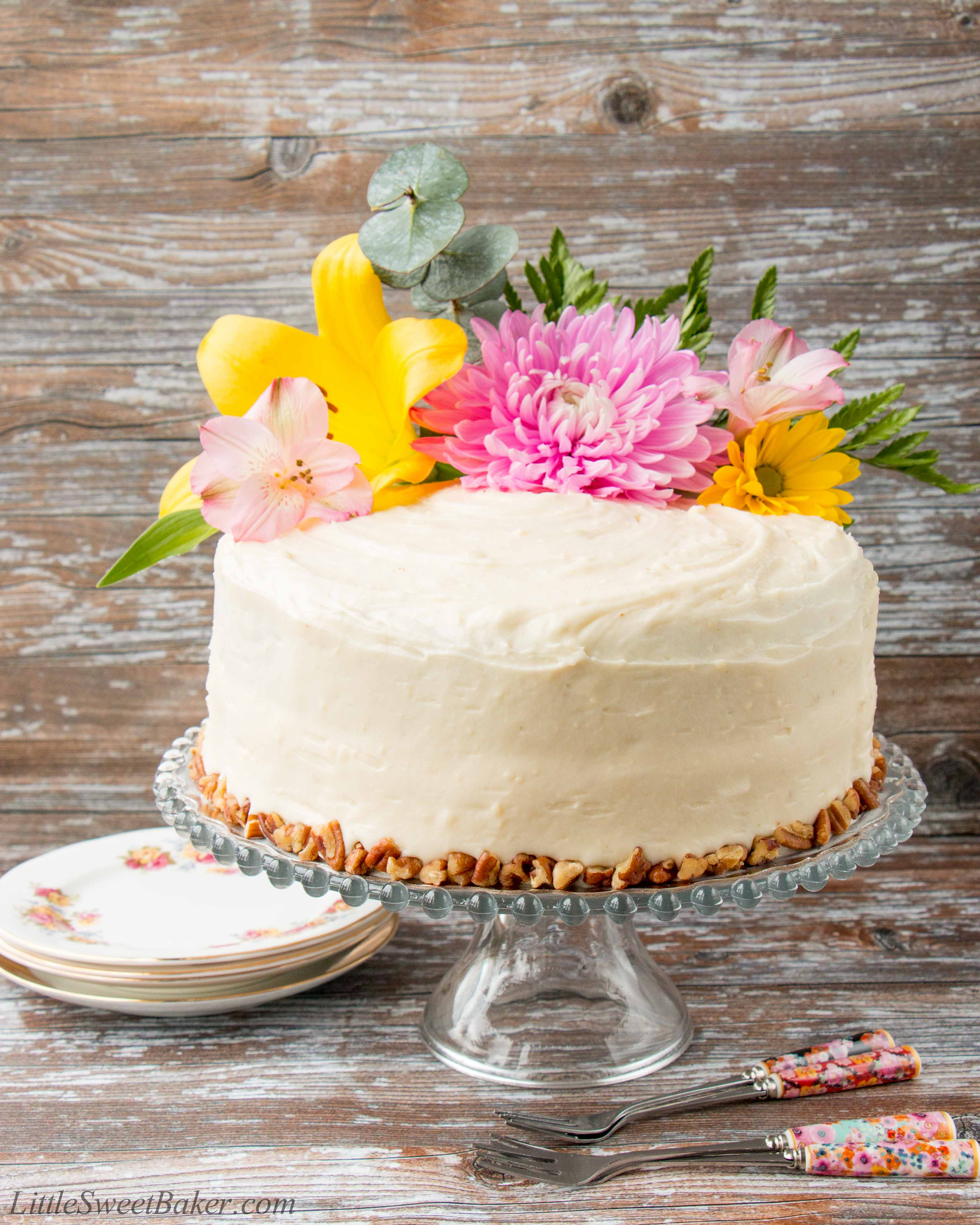 Southern Pineapple Layer Cake Recipes: Little Sweet Baker