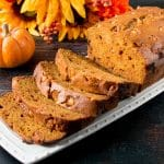 The flavor and aroma of butterscotch in this soft and moist pumpkin bread is absolutely intoxicating!. #butterscotch #pumpkinbread #pumpkinrecipe #fallbaking