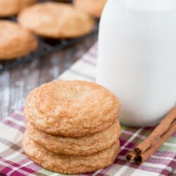 The BEST snickerdoodles I've ever made! Soft and chewy, buttery and tangy, spicy and sweet, and just perfect every single time. #snickerdoodles #cookie #recipe #Christmascookie