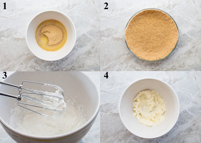 how to make key lime pie steps 1-4