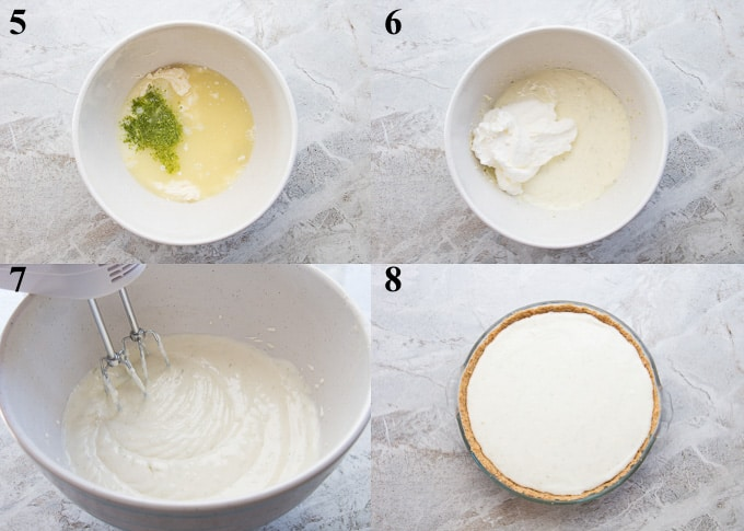 how to make key lime pie steps 5-8
