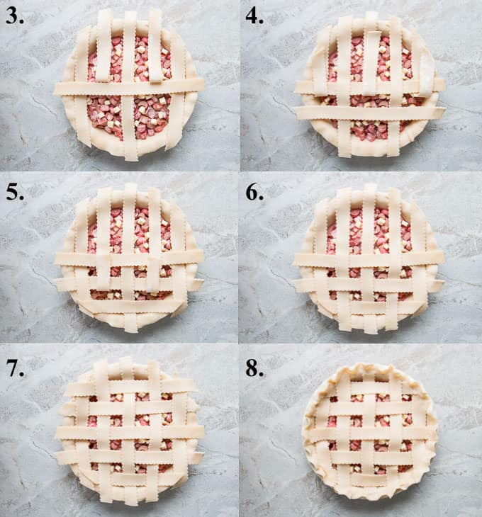 how to make lattice pie