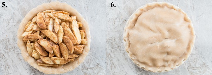 how to make easy apple pie steps 5-6