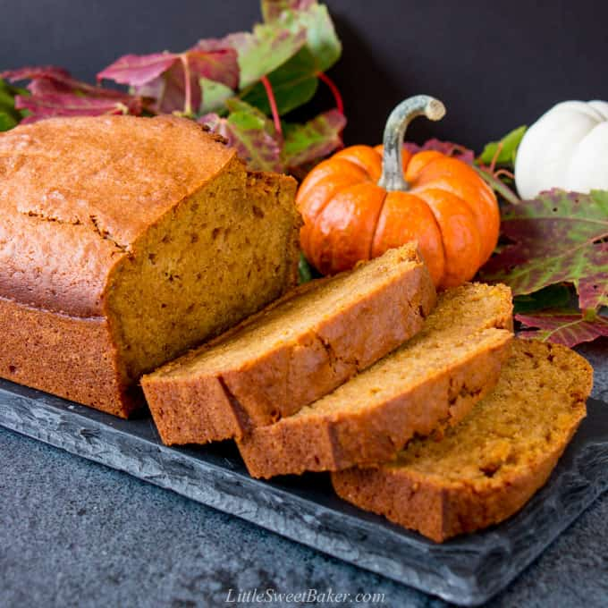 Best Ever Moist Pumpkin Bread Little Sweet Baker